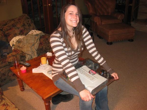 The day Rachel got her Xbox